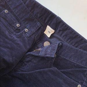 J. Crew Pants - Jcrew blue corduroy pants